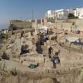 cantiere di scavo dellathenaion di castro