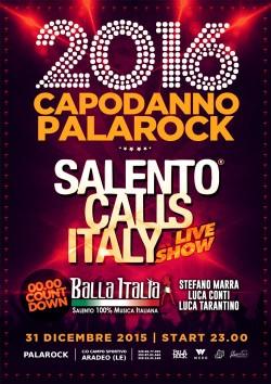capodannopalarock aradeo salento calls italy