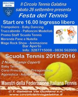 circolo tennis galatina festa
