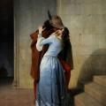 el beso pinacoteca de brera milán 1859