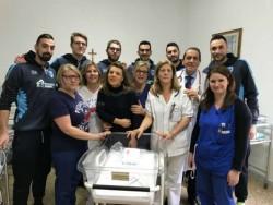 foto di gruppo reparto pediatria