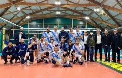 foto di squadra vittoria a roma