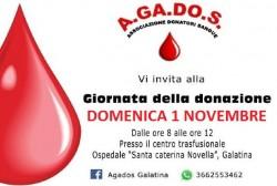 giornata della donazione agados 1 novembre
