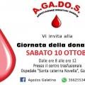 giornata della donazione agados 1o ottobre