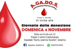 giornata della donazione agados 4 11 18