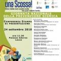 giornata prevenzione sismica locandina conferenza