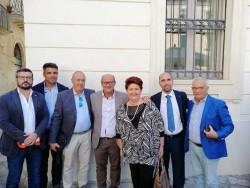 la delegazione cia puglia col ministro bellanova