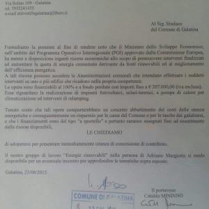 lettera giugno 2015