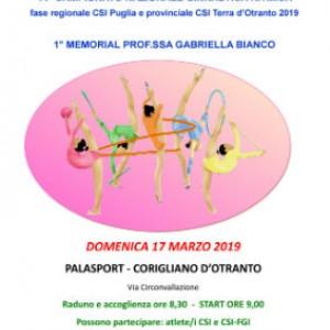 locandina 17 marzo 2019 ginnastica ritmica