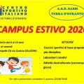 locandina campus estivo csi 2020 1