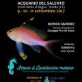 locandina festa del mare acquario del salento