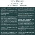 locandina sotto il barocco ottobre 1