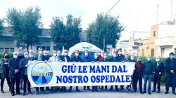 manifestazione ospedale regione salento