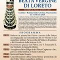 manifesto madonna di loreto