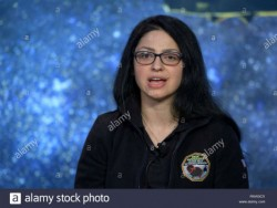 new horizons co investigator silvia protopapa of the southwest research institute during a briefing prior to the expected flyby of ultima thule by the new horizon spacecraft at johns hopkins university applied ph