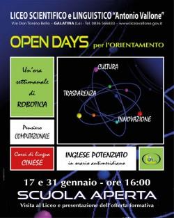 open days scientifico galatina