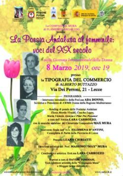 poesia andalusa al femminile cons parità 8 3 19