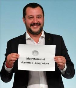 salvini decreto sicurezza e immigrazione