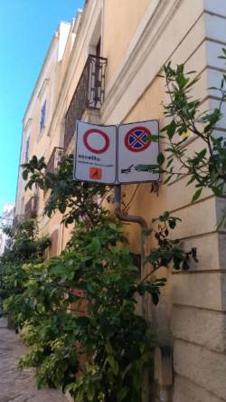 segnale divieto via daruca