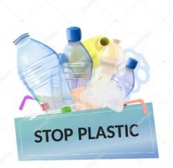 stop plastica